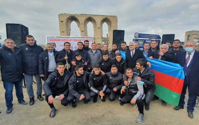 """""""""""Qarabağ"""" sürgündə olan yeganə futbol klubu idi"""""""