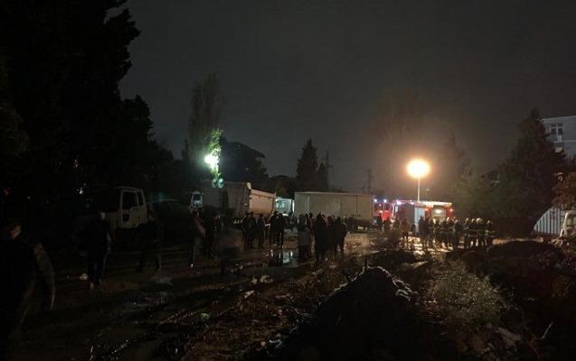 Xırdalandakı uçqun nəticəsində 9 ailə evsiz qalıb