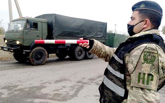 Sülhməramlı kontingent üçün növbəti təminat vasitələri gətirildi