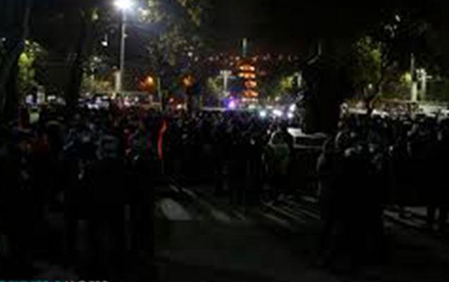 Yerevanda Paşinyanın istefası tələbi ilə yürüş keçirildi - Video