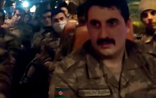 Hərbçilərimiz Türkiyədə coşqu ilə qarşılandılar