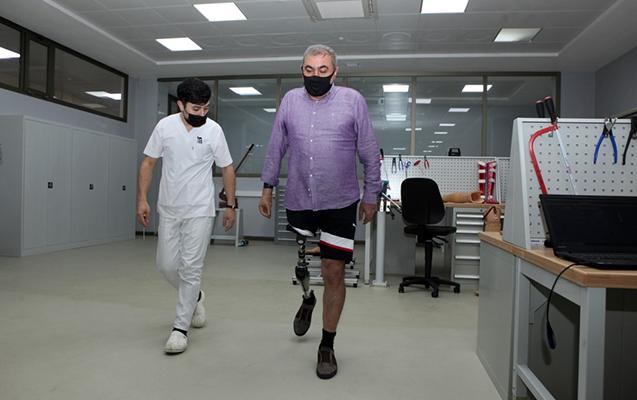 Azərbaycanda hazırlanan ilk yüksək texnologiyalı protezlər