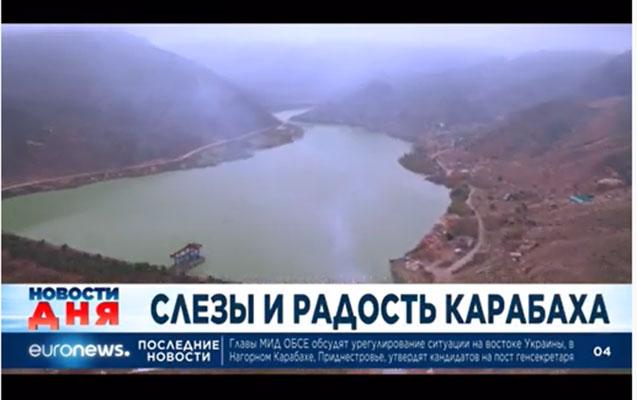 """""""Euronews"""" bu dəfə Suqovuşanı göstərdi - Video"""