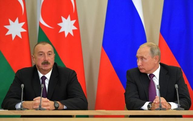İlham Əliyevdən Vladimir Putinə məktub