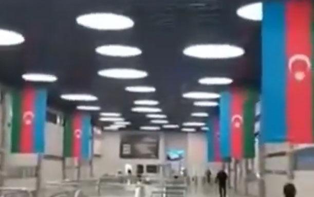 "Bakı metrosunun ""8 Noyabr"" stansiyasından"