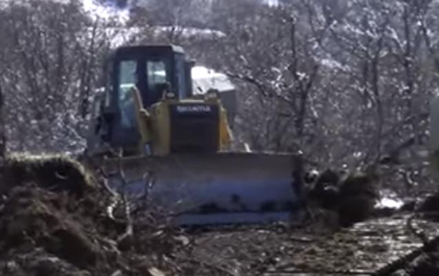İşğaldan azad edilmiş ərazilərdə bu işlər görülür - Video