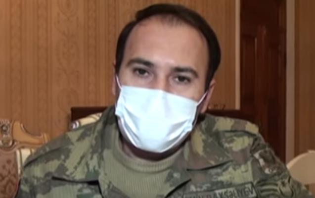 70 gün erməni əsirliyində qalan Emin Baxşəliyev... - Video