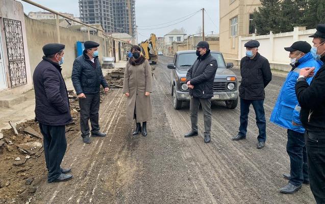 Xırdalanda növbəti küçələrin asfaltlanmasına başlanıldı