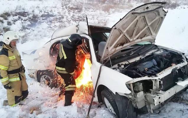 Rusiyada ağır yol qəzası: 8 ölü, 3 yaralı