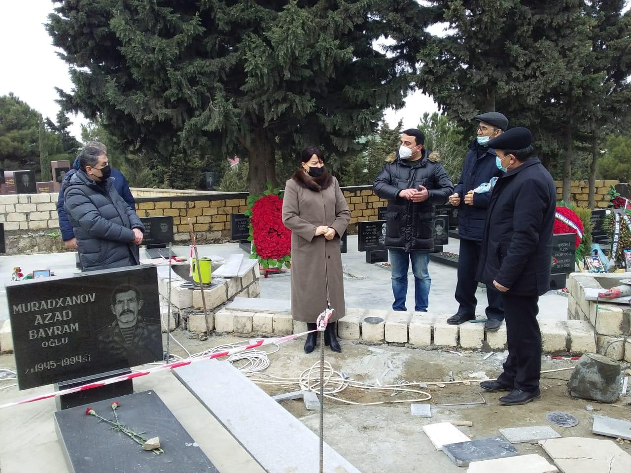 Xırdalanda Şəhidlər Abidəsi, məktəb körpüsü tikilir - Fotolar