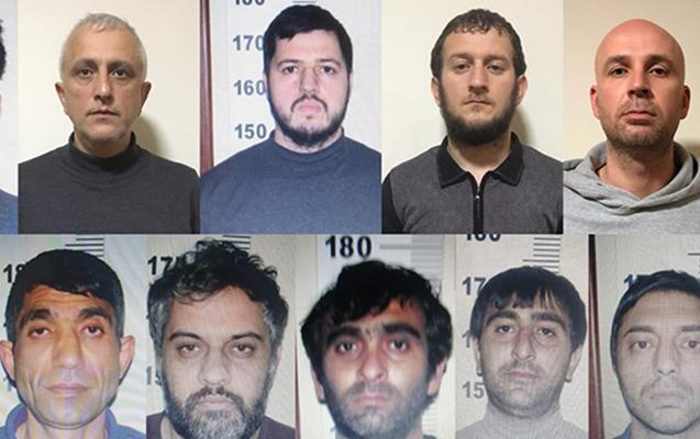 """""""Bandotdel"""" silahlı şəxsləri saxladı, 20 kq narkotik aşkarlandı"""