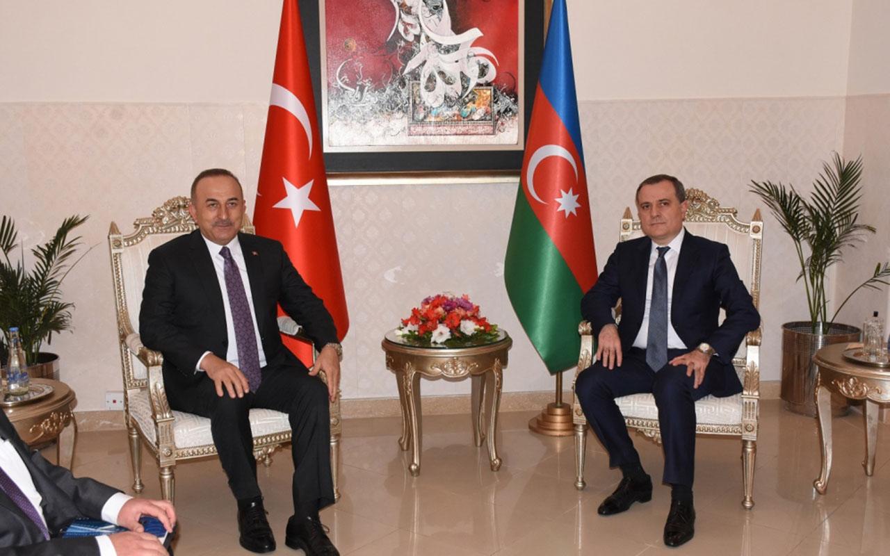 Ceyhun Bayramov Çavuşoğlu ilə görüşdü