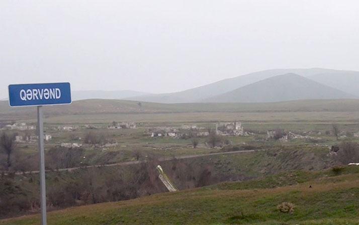 Qərvənd kəndindən videogörüntülər