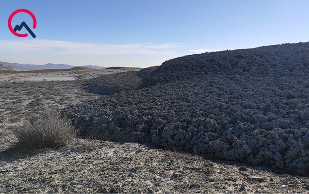 Qobustanda baş verən Şıxzərli palçıq vulkanı ilə bağlı