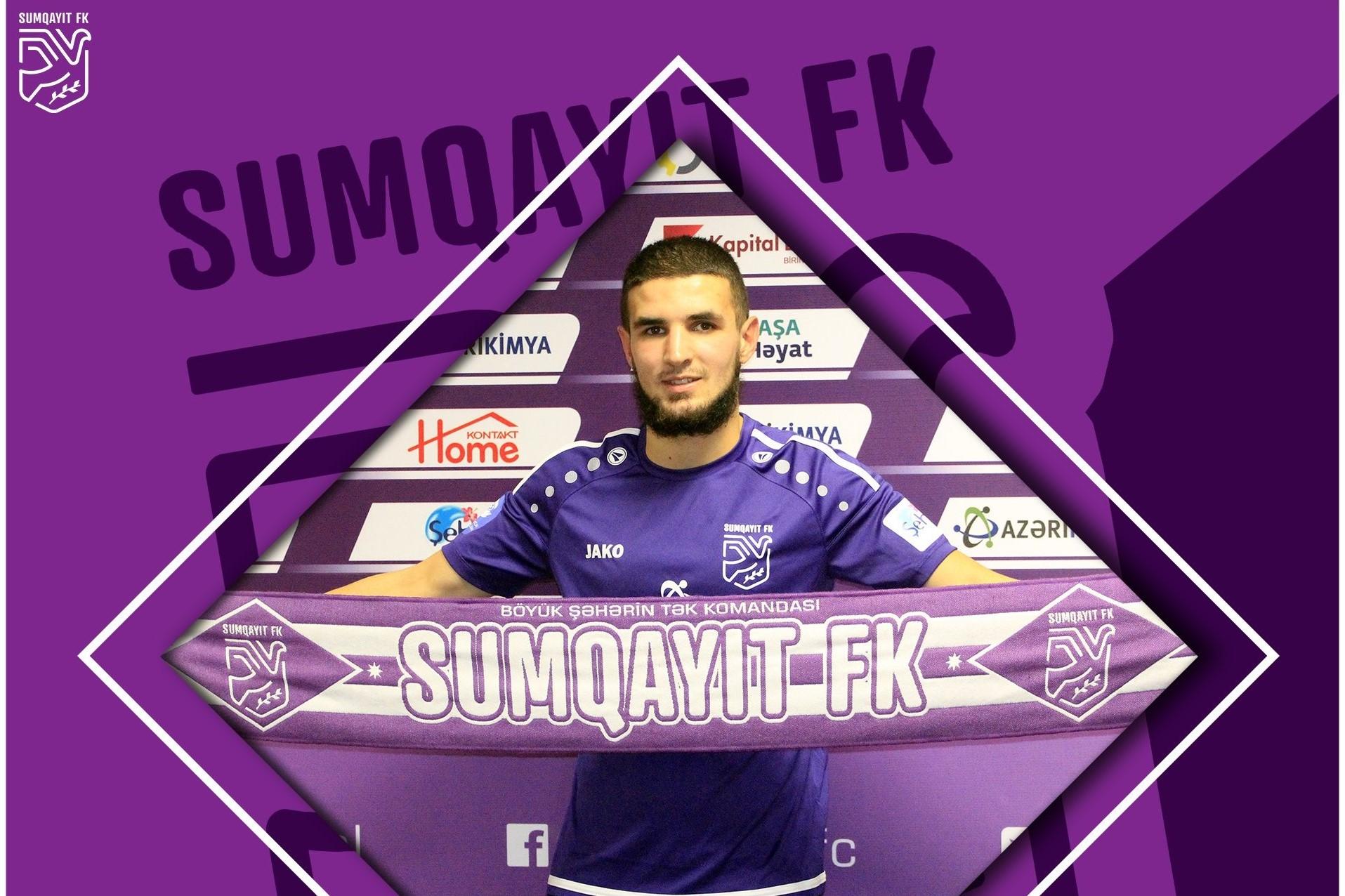 """""""Sumqayıt"""" növbəti transferini açıqladı"""