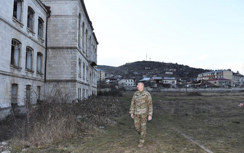 """""""Hərbçilərimiz Şuşanı qoruyur, ətraf yüksəklikləri nəzarətdə saxlayır"""""""