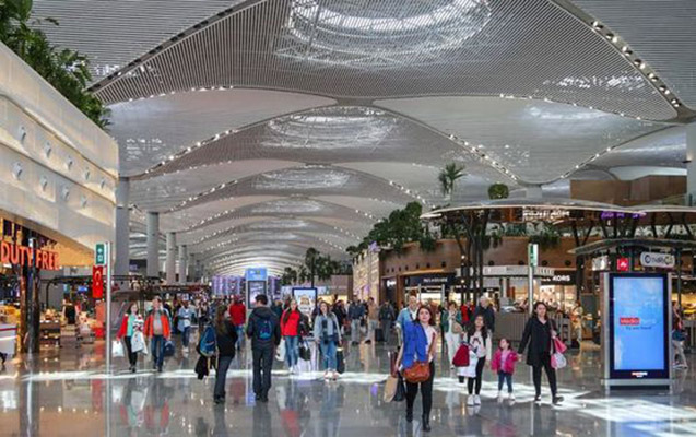 İstanbul aeroportu Avropada birincidir