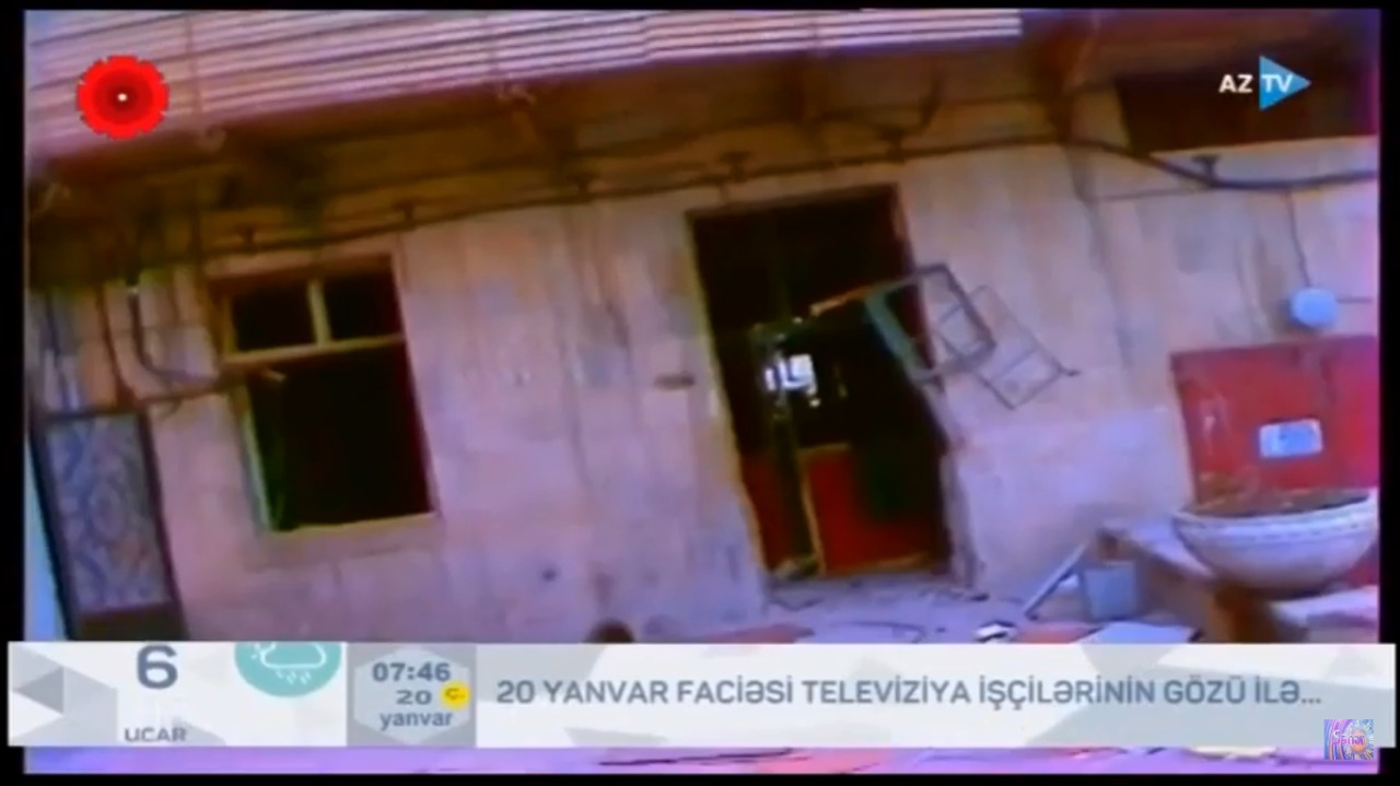 Televiziya işçiləri o gecəni xatırladılar... - VİDEO