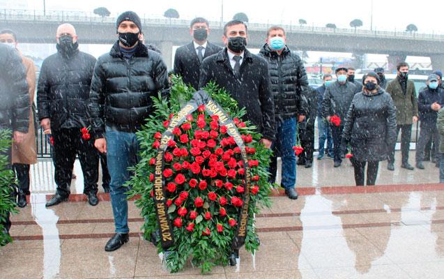 20 Yanvar- Memorial Abidə Kompleksində şəhidlər anıldı