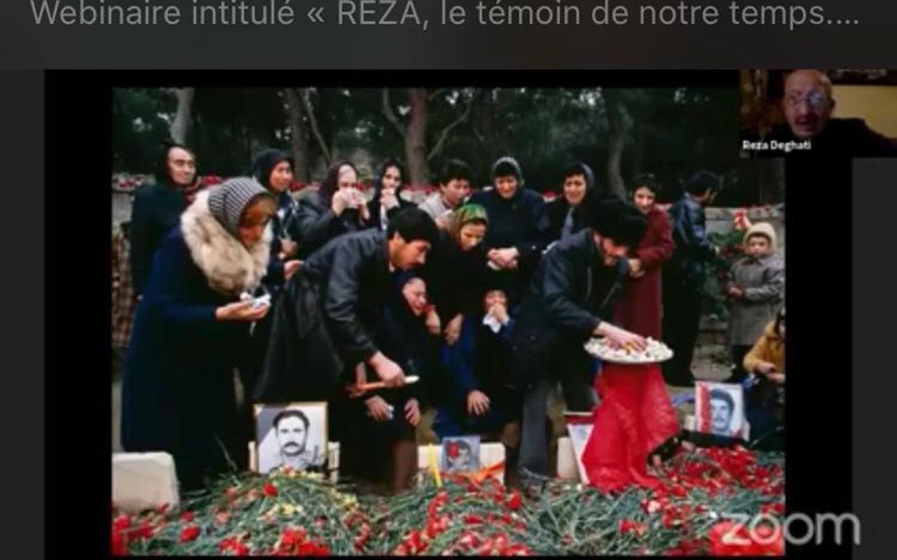 Reza Deqati Azərbaycanla bağlı keçirilən vebinarda çıxış edib