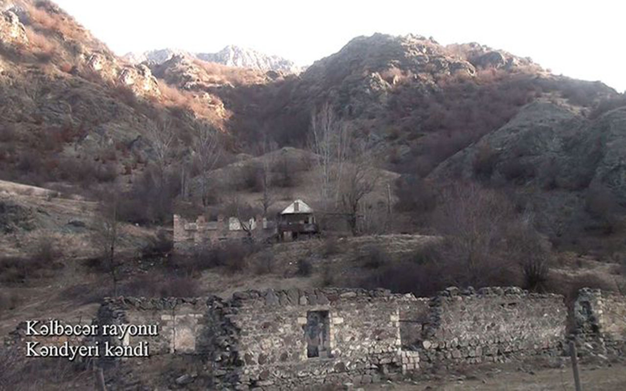 Bu da Kəlbəcərin Kəndyeri kəndi