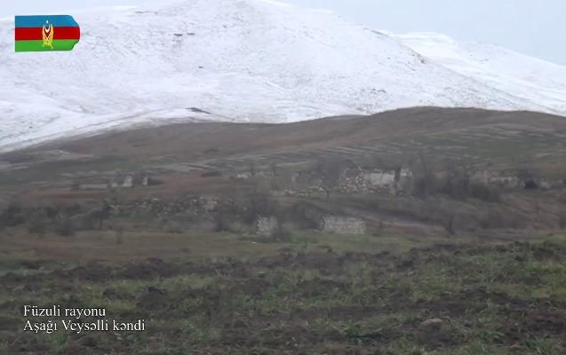 Füzulinin Aşağı Veysəlli kəndi - Video