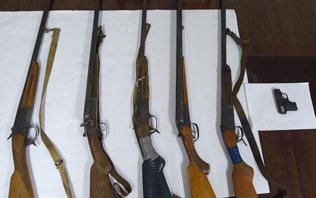 Bu silahların cinayətdə istifadə olunub-olunmaması yoxlanacaq