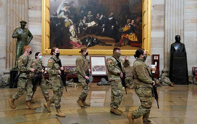 Milli Qvardiya döyüşçülərinin Vaşinqtonda qalma müddəti açıqlandı