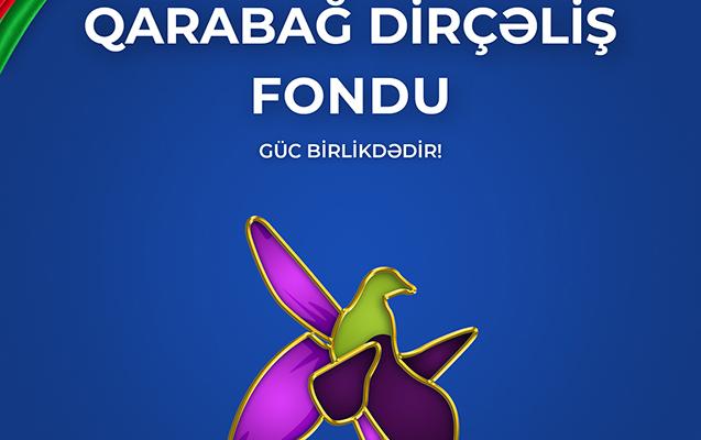 """""""Muğanbank"""" Qarabağ Dirçəliş Fonduna 100 000 AZN köçürdü"""