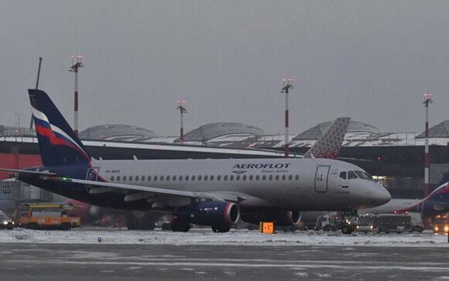 Rusiyadan bir sıra beynəlxalq uçuşlar ləğv edildi