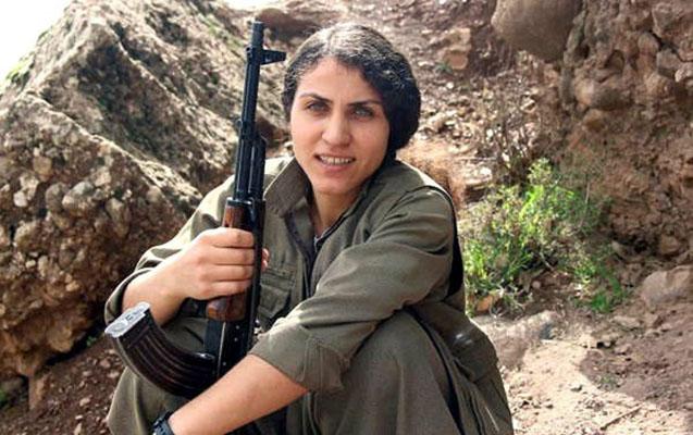 Terror planlaşdıran qadın havada vuruldu
