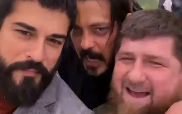 Zabit Səmədov Burakı Çeçenistan Prezidenti ilə görüşdürdü - Video