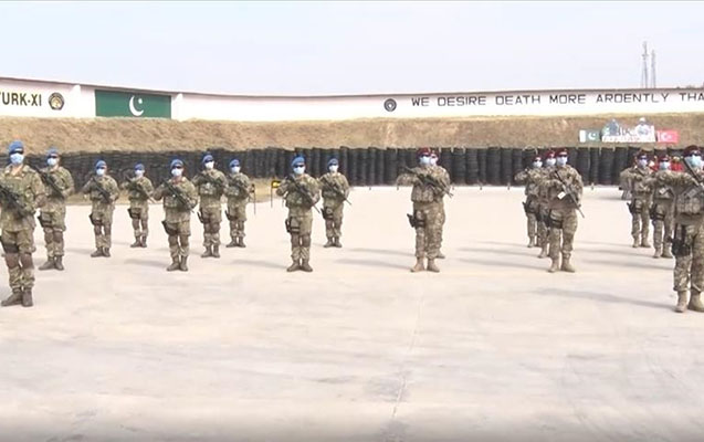 Türkiyə və Pakistan Silahlı Qüvvələri hərbi təlimlər keçirir