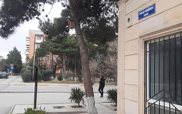 Sumqayıtın mərkəzi küçəsinə Polad Həşimovun adı verildi