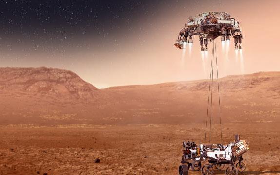 NASA Marsa enişin görüntülərini və planetin səsini yaydı - Video