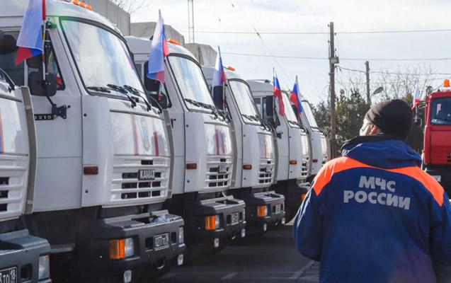 Rusiyanın Qarabağa göndərdiyi humanitar yardımın həcmi açıqlandı