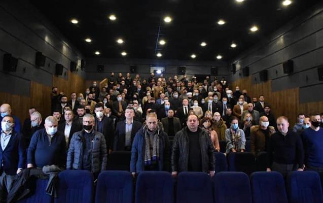 Kiyevdə Xocalı soyqırımından bəhs edən film təqdim olundu