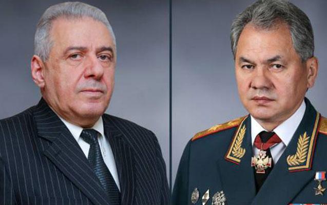 Rusiya və Ermənistan müdafiə nazirlərinin telefon danışığı oldu