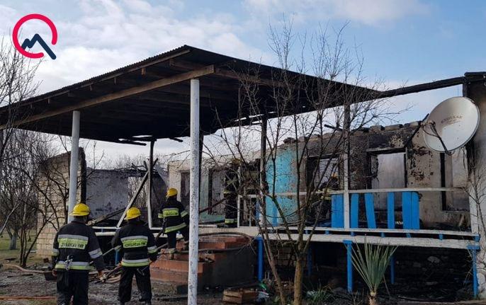 Göyçayda ev yandı, 87 yaşlı qadın öldü