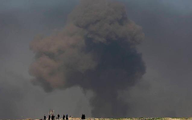 ABŞ İranın Suriyadakı obyektinə aviazərbə endirdi