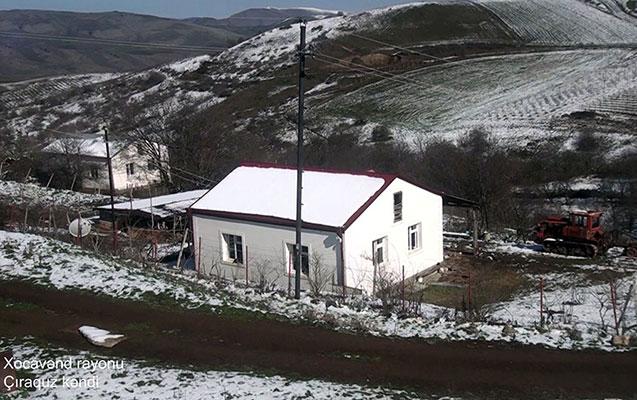Xocavəndin Çiraquz kəndinin - Videogörüntüsü