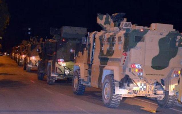 Türkiyədə hərbi maşın aşdı
