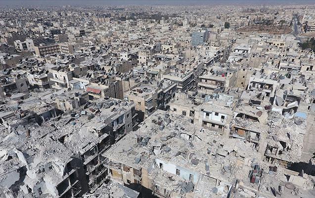 Suriyada 10 illik vətəndaş müharibəsinin vurduğu ziyan açıqlandı