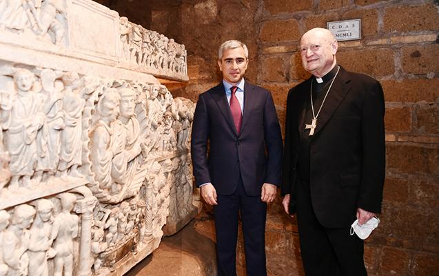 Mehriban Əliyevanın təşəbbüsü ilə Heydər Əliyev Fondu Vatikanda dünya və dini irsinin qorunmasına yeni töhfəsini verir