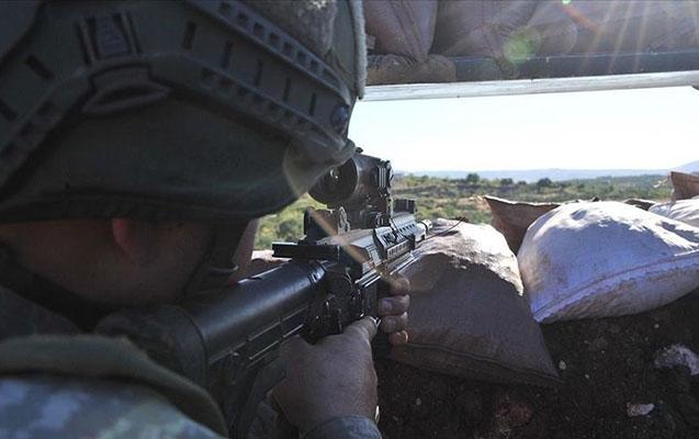 Suriyanın şimalında 5 PKK-çı zərərsizləşdirildi