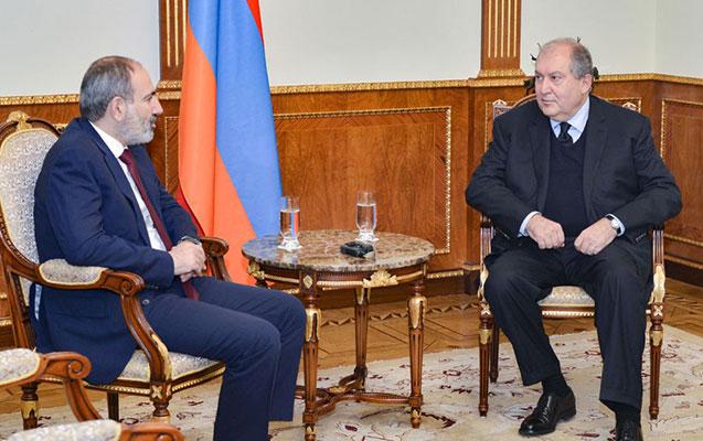Sarkisyan Ermənistanda siyasi böhrandan çıxış yolunu açıqladı