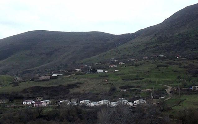 Bu da Füzulinin Yuxarı Güzlək kəndi... - Video