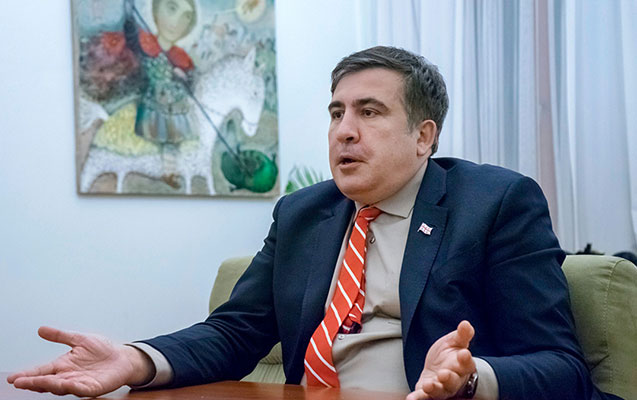 Saakaşvili 24 saatlıq Gürcüstana buraxılmasını istədi