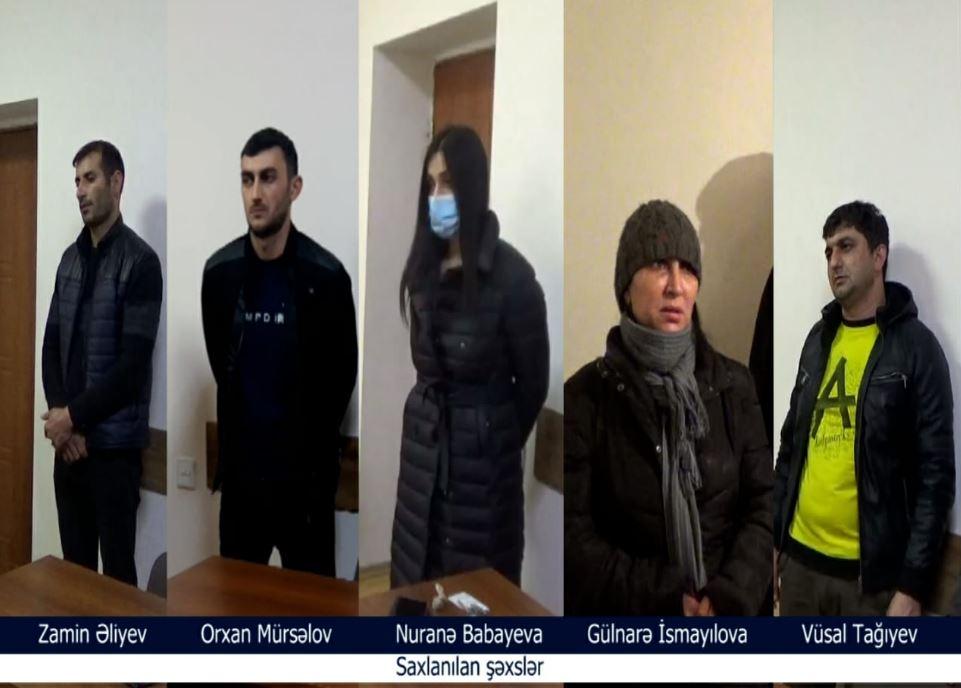 5 nəfərdən 23 kq narkotik aşkarlandı - Video