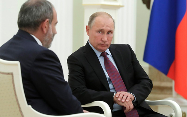 Paşinyan Putinə zəng etdi